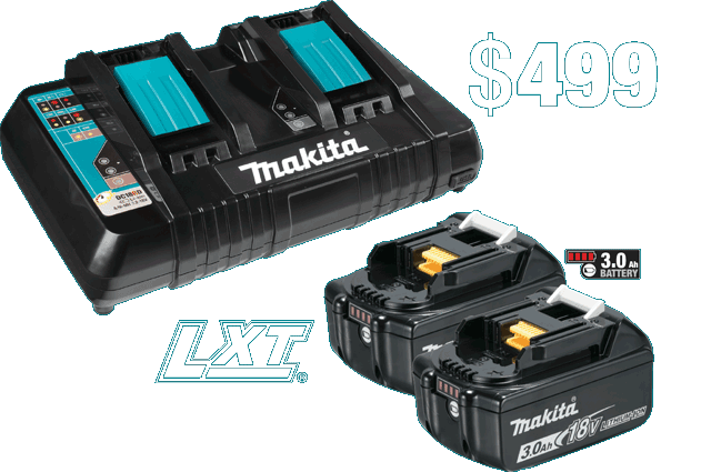 18V LXT Battery and Dual Port Charger Starter Pack