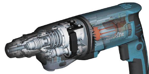 diagram of drill internals