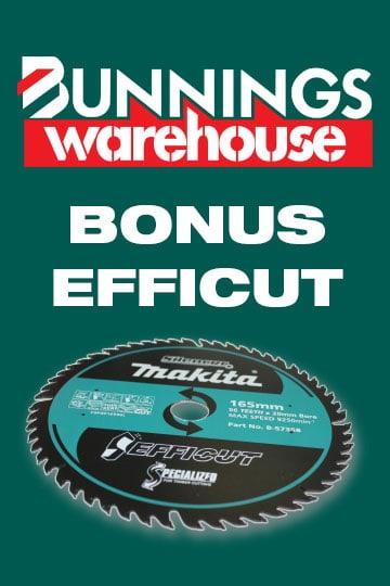 Bunnings Bonus Efficut
