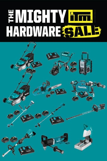 The Mighty ITM Hardware Sale