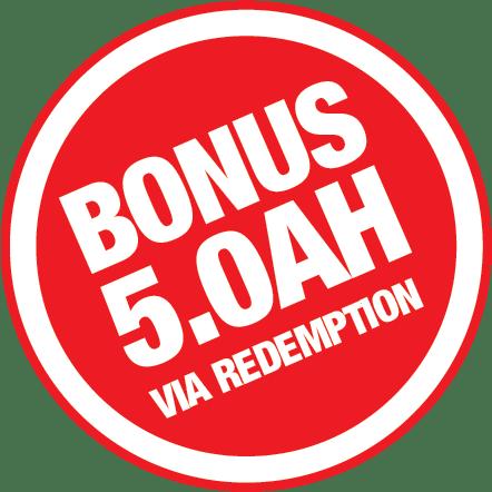 Bonus 5.0Ah