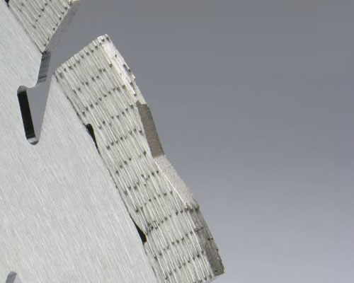 Close up of Segment design