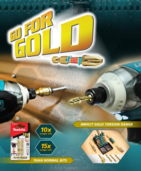 Go For Gold - Impact Gold Torsion Range