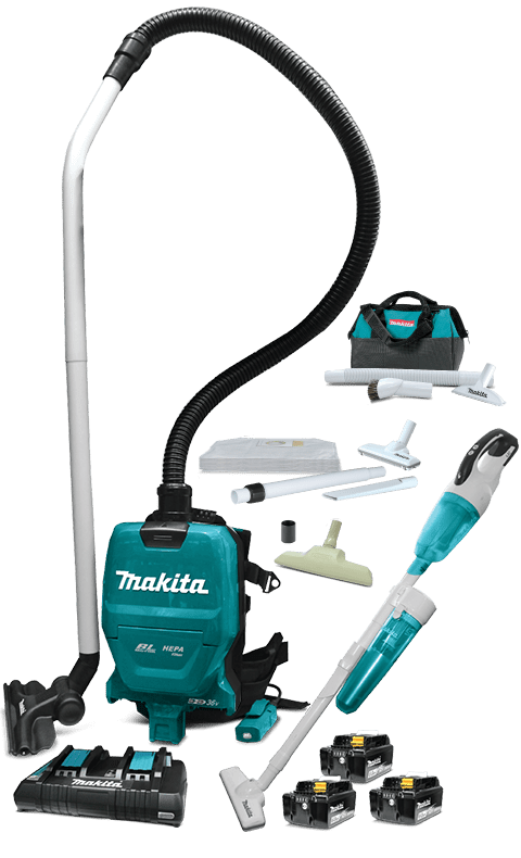 /DLX2248PT2 18Vx2 Complete Cleaning Combo Kit