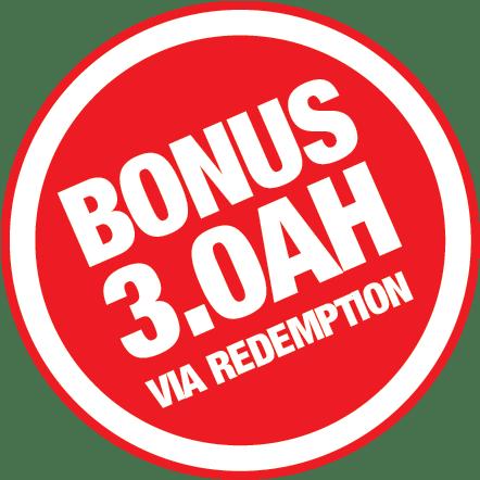 Bonus 3.0Ah