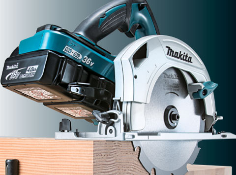 Photo of Makita DHS710 Cordless Circular Saw