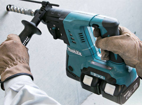 Photo of Makita BHR261 Rotary Hammer Drill