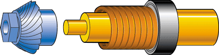 diagram showing coil spring
