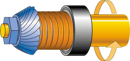 diagram showing how grinder grabs