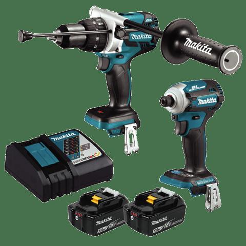 DLX2308T 18V Cordless Brushless 2pc Kit
