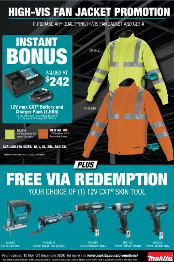 High-Vis Jacket Promotion