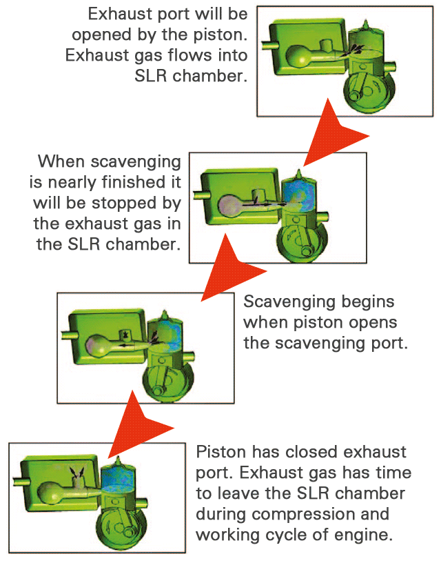 Diagram of SLR process