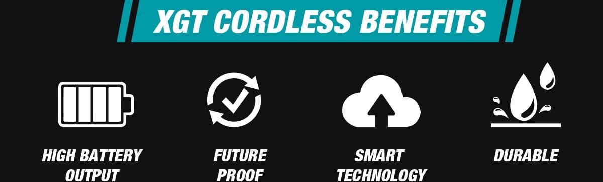 XGT Benefits - High Battery Output, Future Proof, Smart Technology, Durable