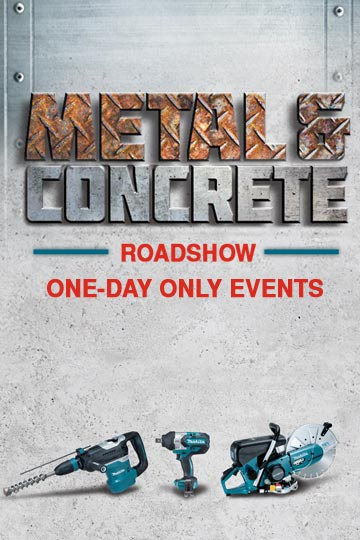 Metal & Concrete Roadshow