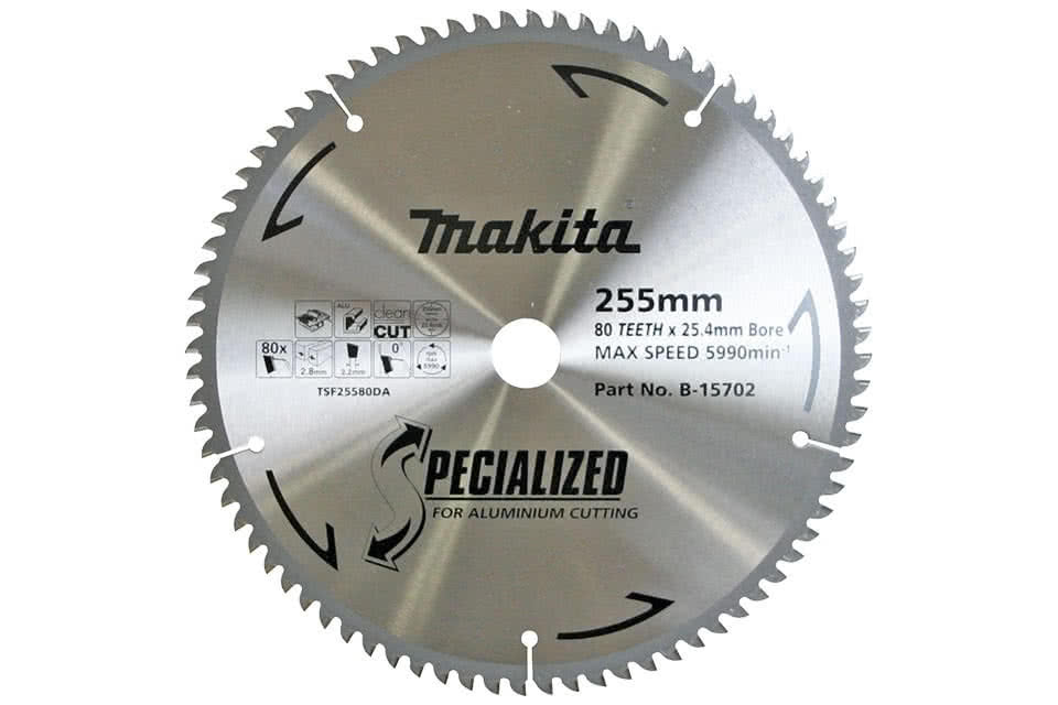 Makita accessory details specialized aluminium cutting blades specialized aluminium cutting blades for circular saws greentooth Images