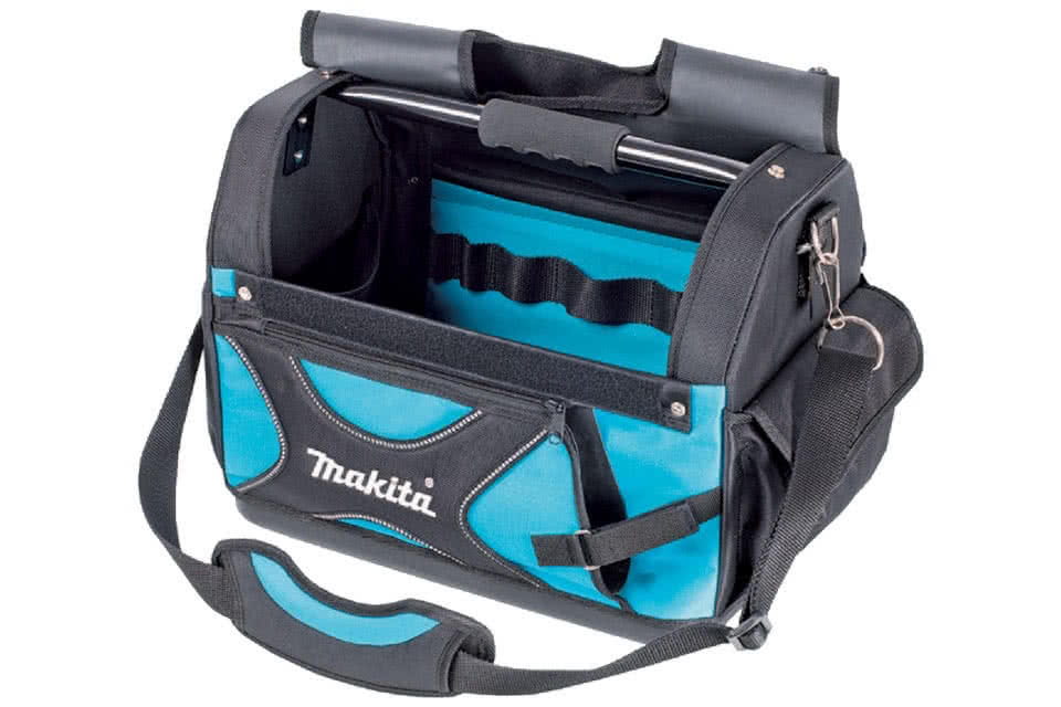 P 79946 Tool Bag Open Tote With Saw Pocket