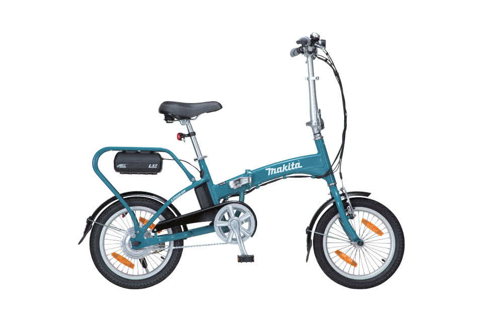 Makita Product Details Bby180 18v Cordless Motor Assisted Bicycle