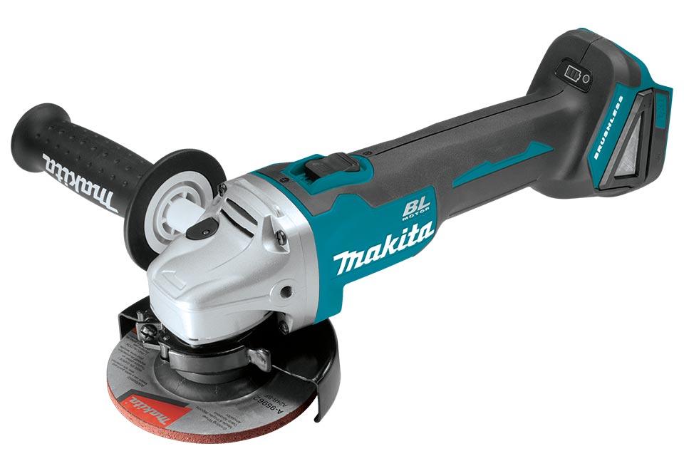 Makita Product Details Dga504 18v 125mm Cordless