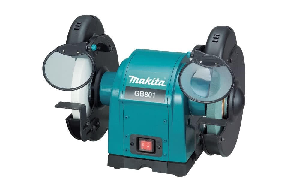 Makita Product Details Gb801 205mm Bench Grinder